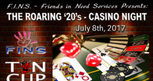 FINS Presents - The Roaring '20's Casino Night at Tin Cup Tavern