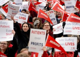 More than 1,000 Nurse's Rally for Safe Staffing! - Health Council