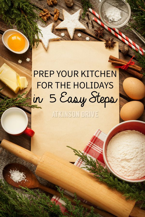 Organize Your Kitchen in 5 Easy Steps