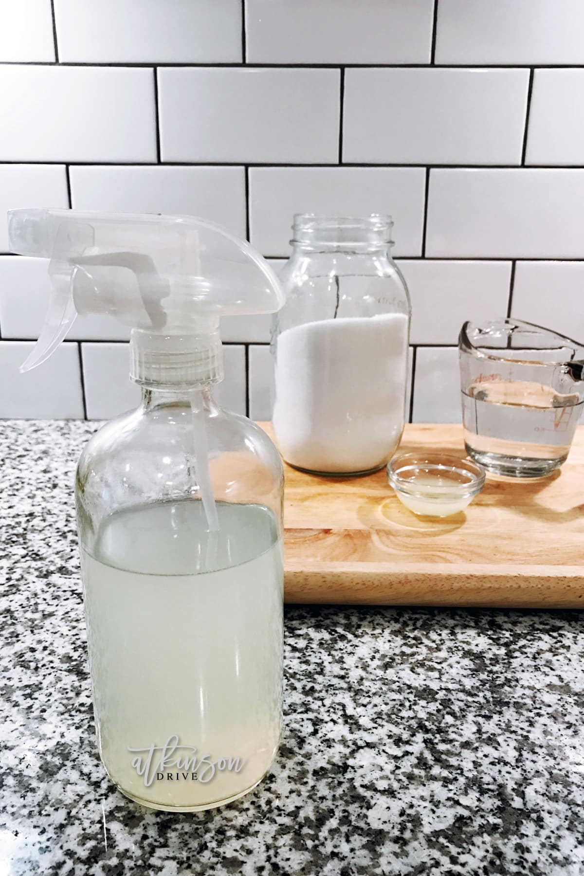 This homemade produce wash is not only safe for your family, but it has natural properties to get rid of bacteria and bugs!