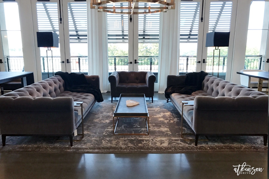 Join us for a Restoration Hardware Gallery tour! We're visiting the Atlanta store in Buckhead for a peek at the Fall 2017 collections /// atkinsondrive.com