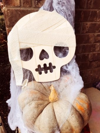 Cute Mummy Skull