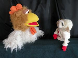Apple Holler's Barnyard Puppet Show