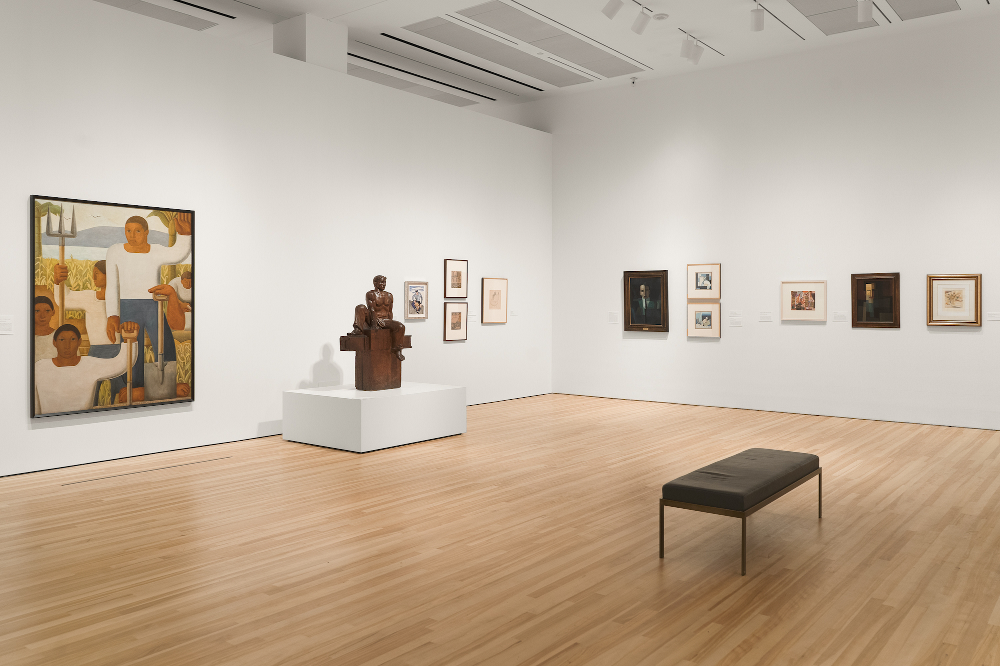"Installation View of ""Amauta"" exhibition at the Blanton Museum of Art, The University of Texas at Austin"