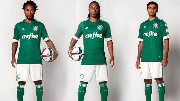 A nova camisa do Palmeiras