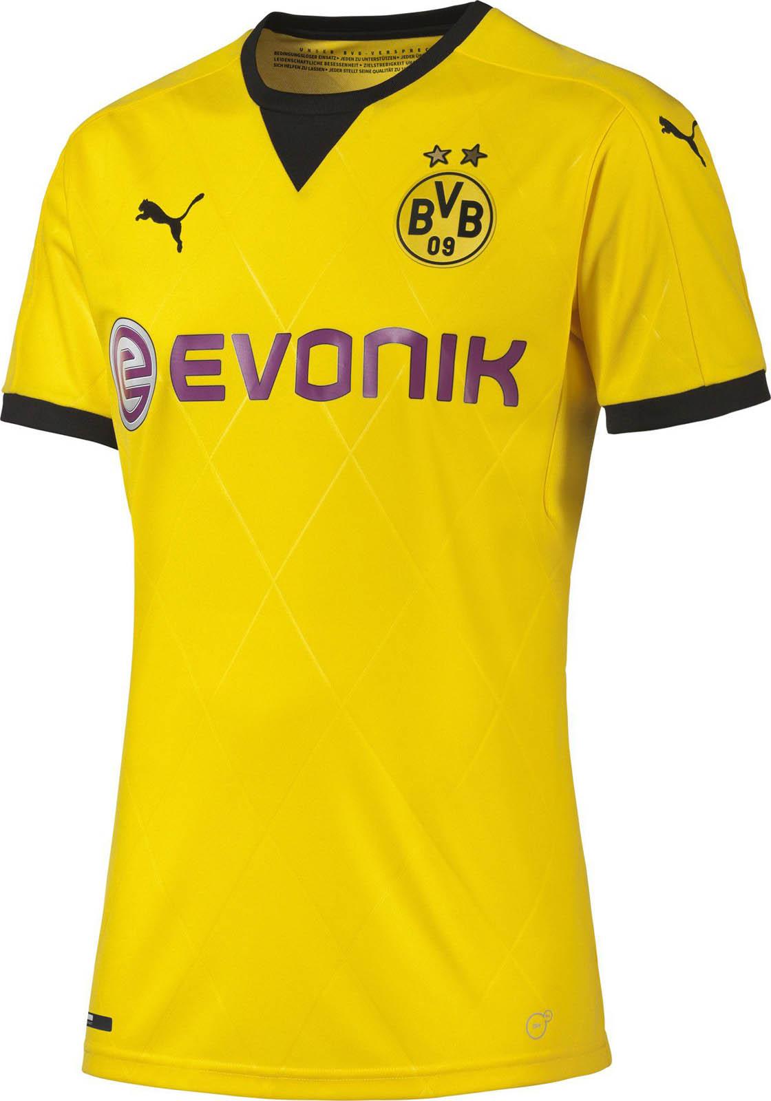 A nova camisa do Dortmund