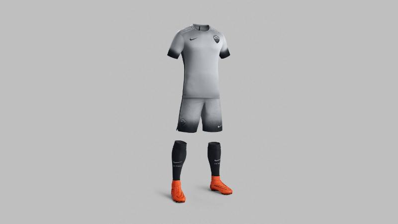 Nova camisa alternativa da Roma (Divulgação)