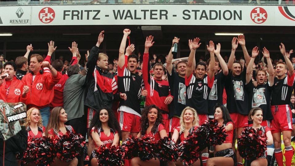 O Kaiserslautern campeão em 1998