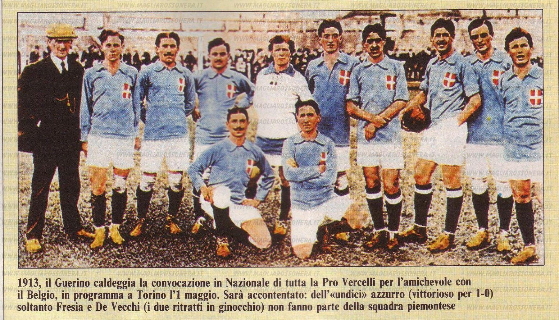 Pro Vercelli era uma potência no início do Século XX