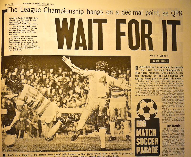 Sunday Mirror - abril de 1976
