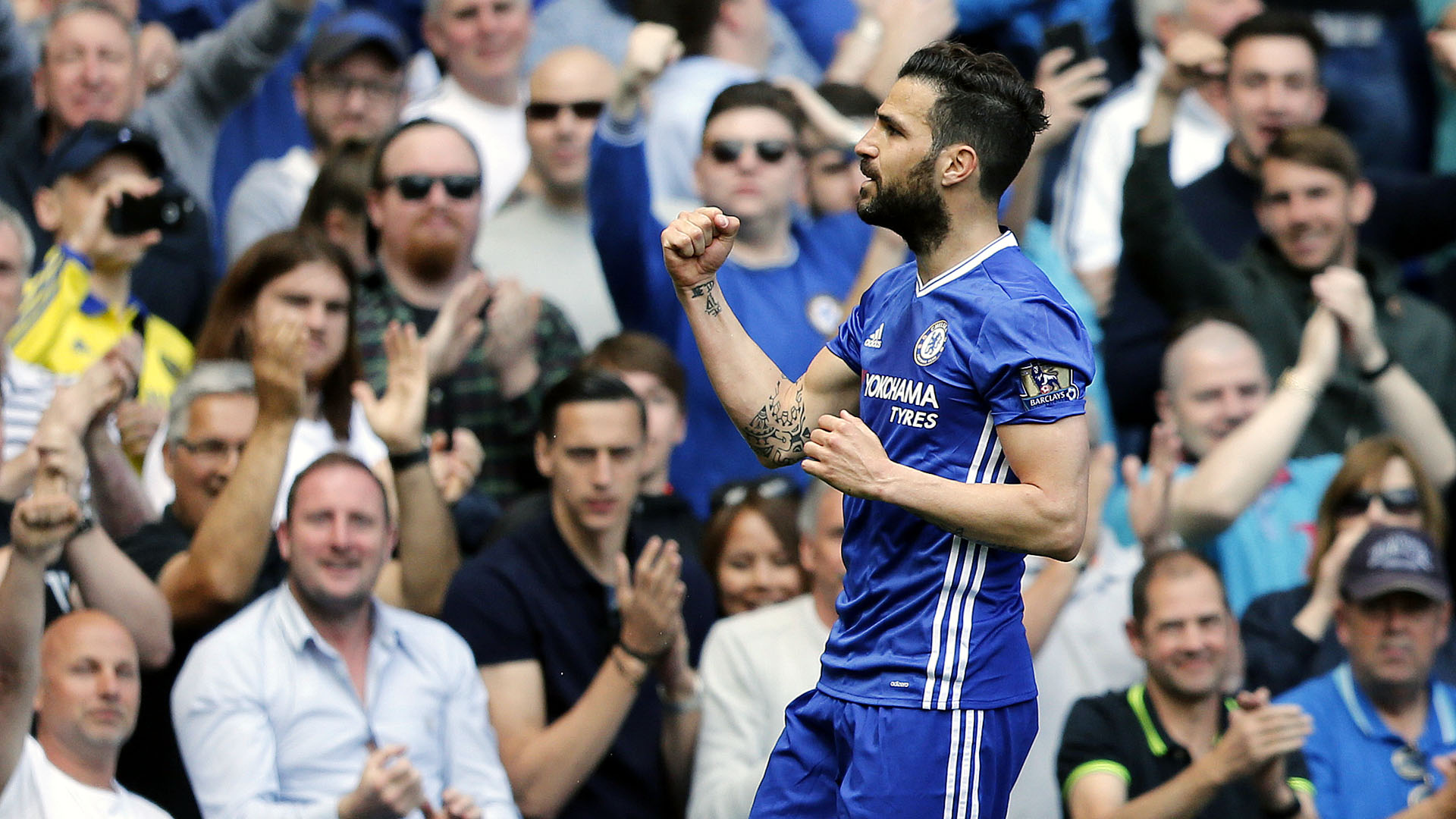 Fàbregas, do Chelsea (AP Photo/Frank Augstein)