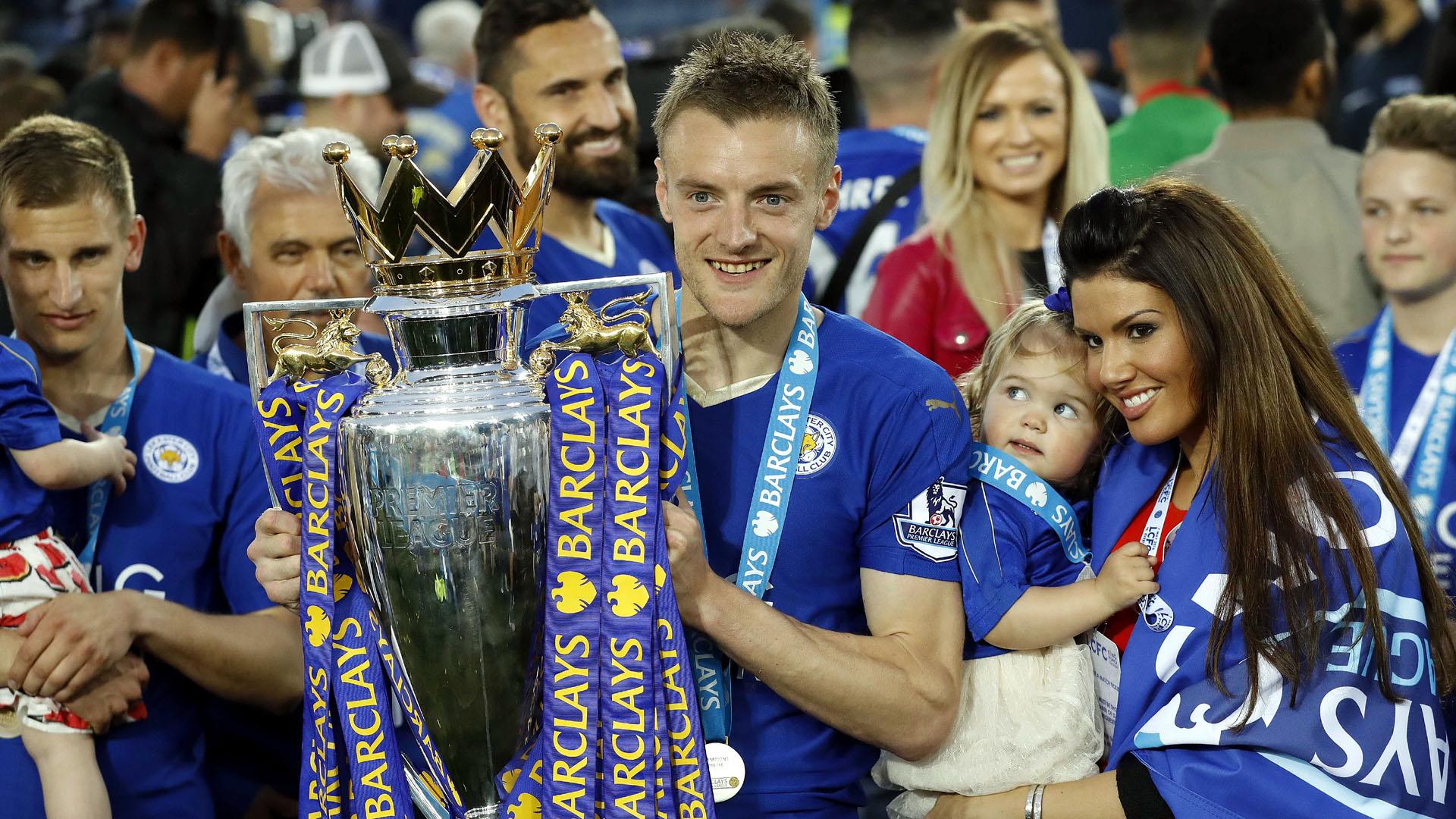 Jamie Vardy, do Leicester (AP Photo/Matt Dunham)