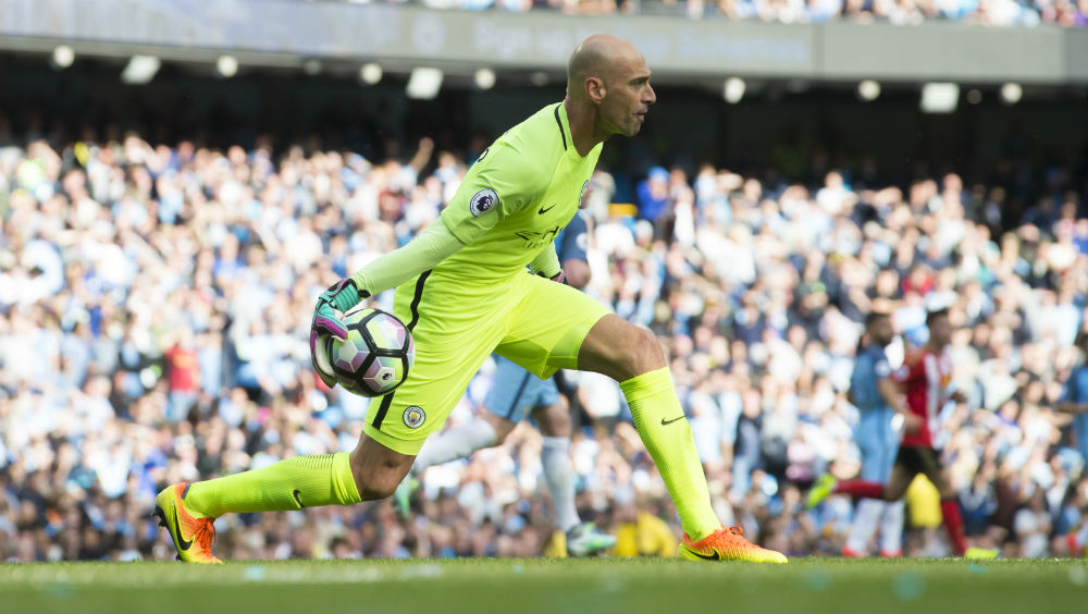 Willy Caballero, titular contra o Sunderland (Foto: AP)
