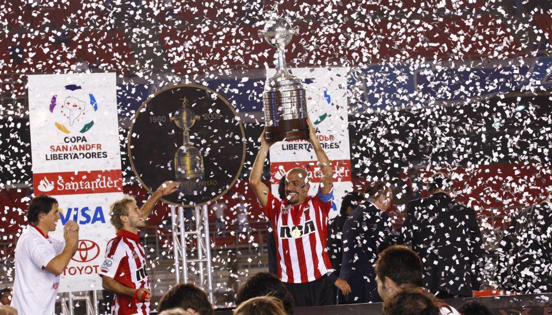 Veron jogaria a Libertadores de 2017, competição que foi campeão em 2009 com o Estudiantes