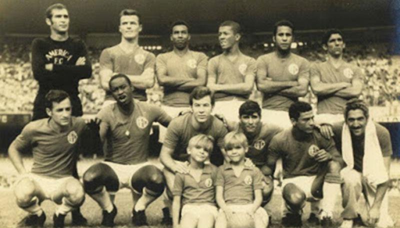 america 1969 - Rosan Alex Djair Renato Mareco e Zé Carlos
