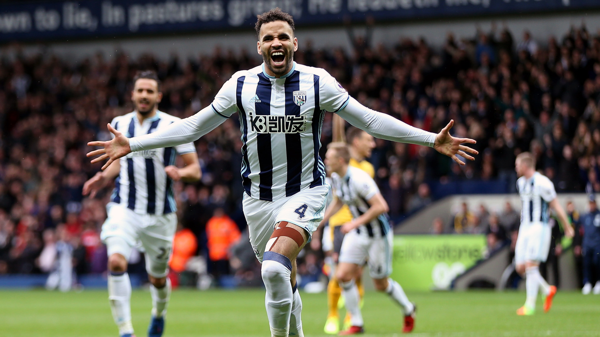 Hal Robson Kanu, do West Brom (Photo by Alex Morton/Getty Images)