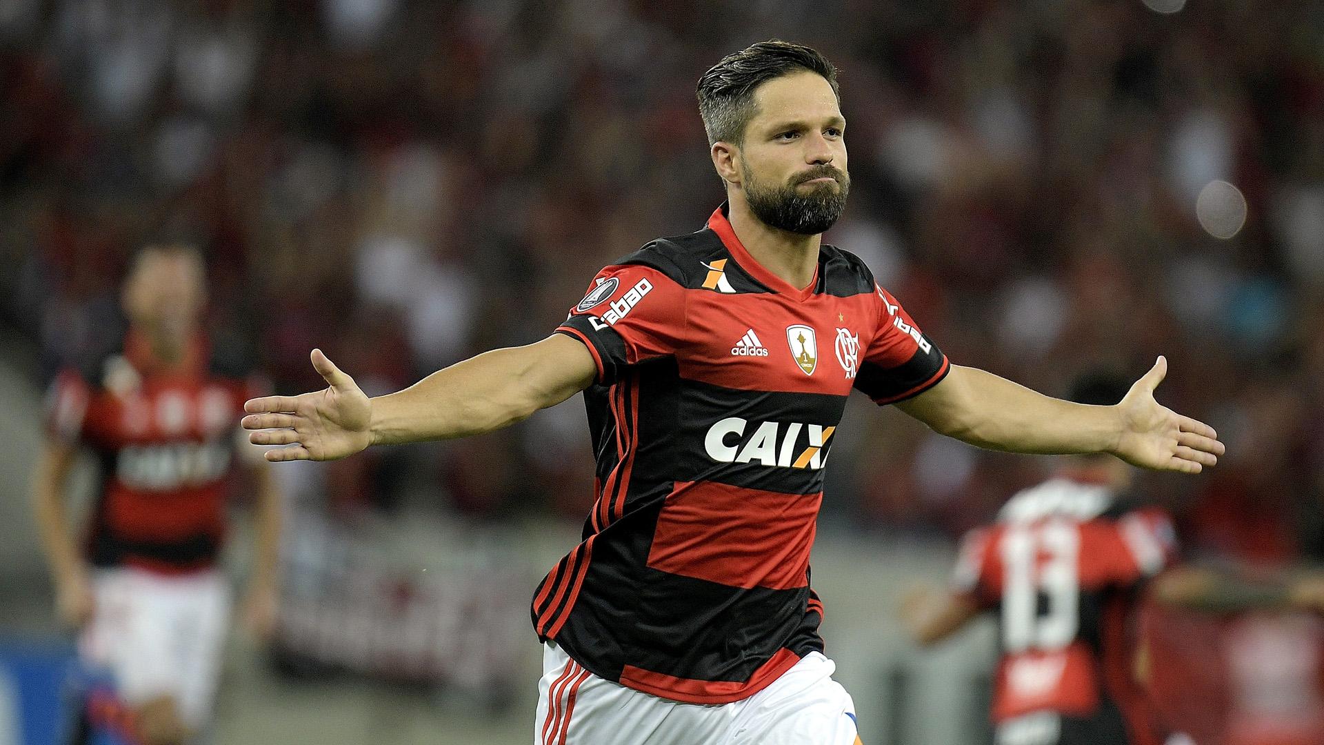 Diego, do Flamengo (Photo by Alexandre Loureiro/Getty Images)