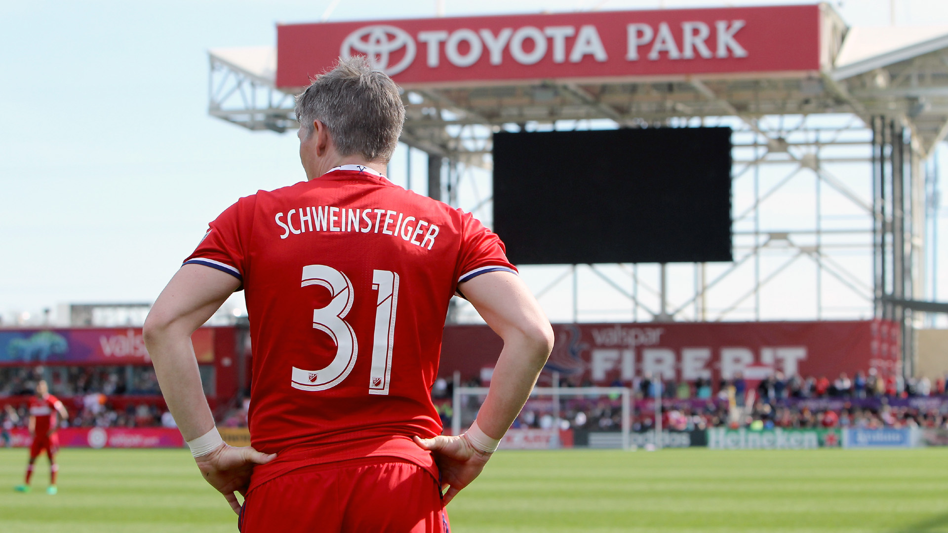 Bastian Schweinsteiger, do Chicago Fire (Photo by Dylan Buell/Getty Images)