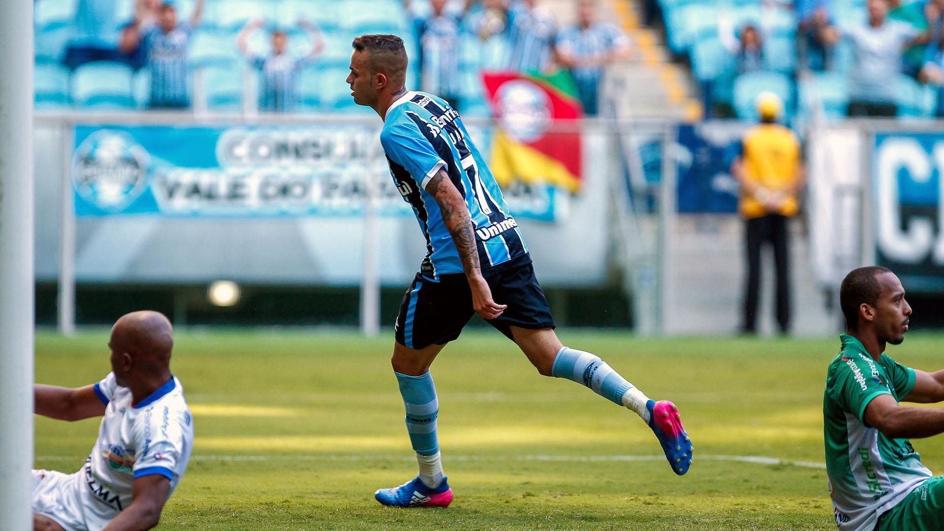 Luan, um dos destaques do Grêmio (foto: divulgação)