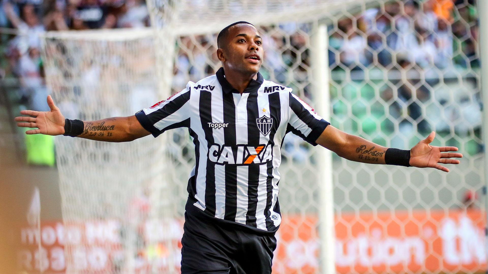 Robinho, do Atlético Mineiro (Foto: Bruno Cantini / Atlético)