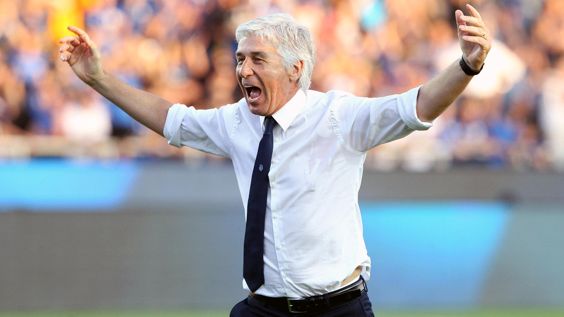 Gian Piero Gasperini, da Atalanta (Photo by Marco Luzzani/Getty Images)