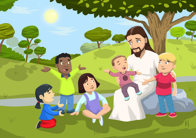 Jesus loves little children. - Christ Talker