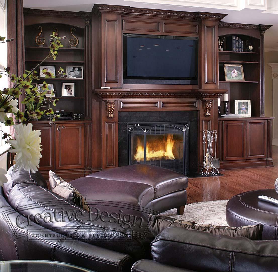 Custom Built Fire Place