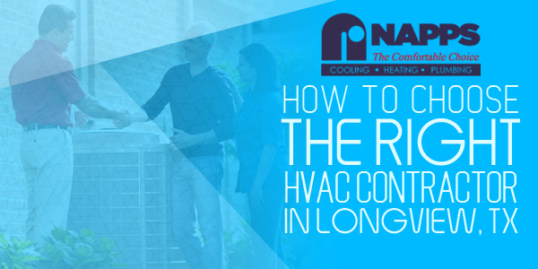 How to Choose the Right HVAC Contractor in Longview, TX