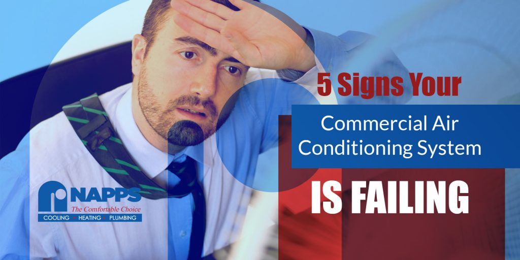 5 Signs Your Commercial Air Conditioning System is Failing