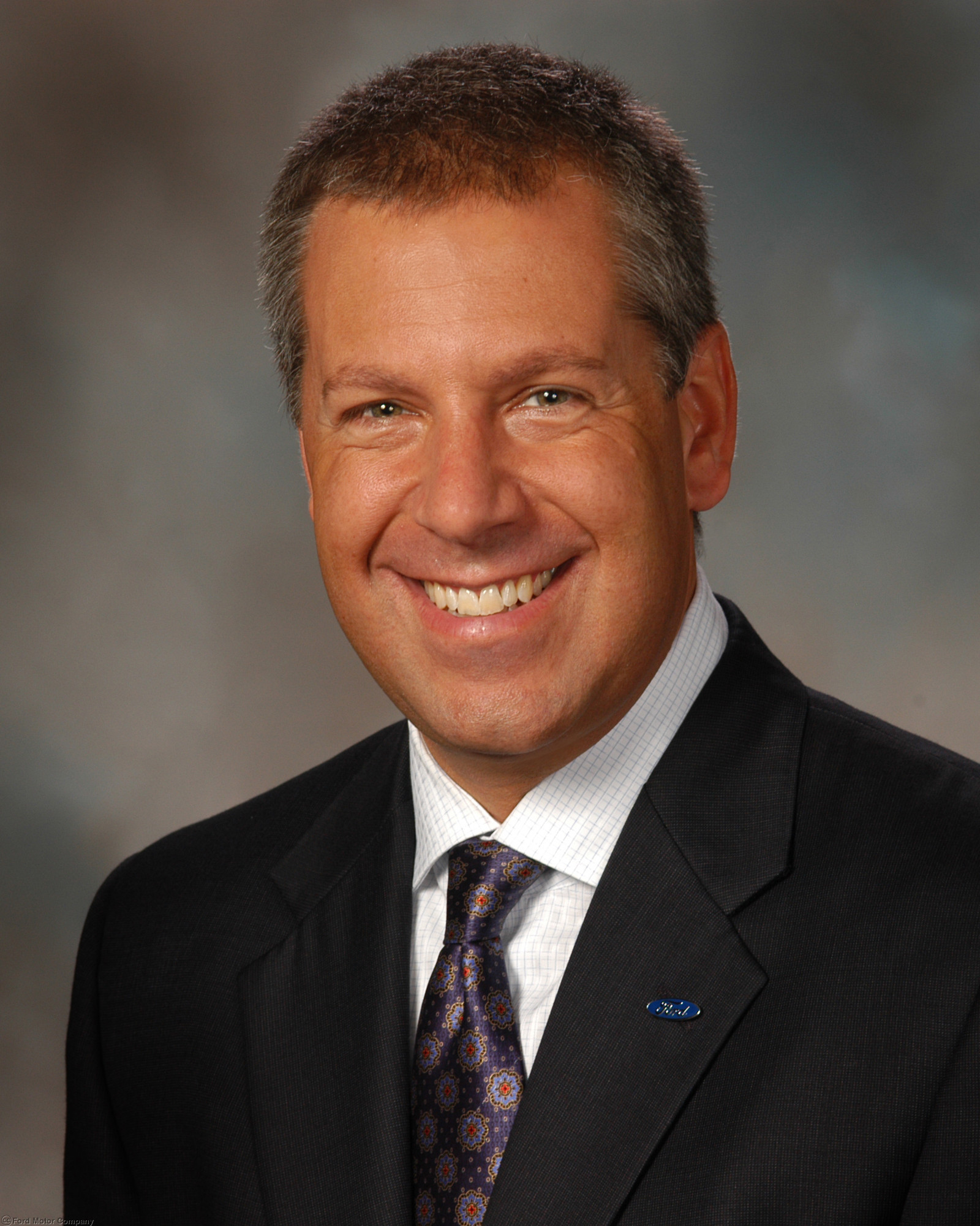 Ford motor company president of the americas joe hinrichs for Ford motor company executives