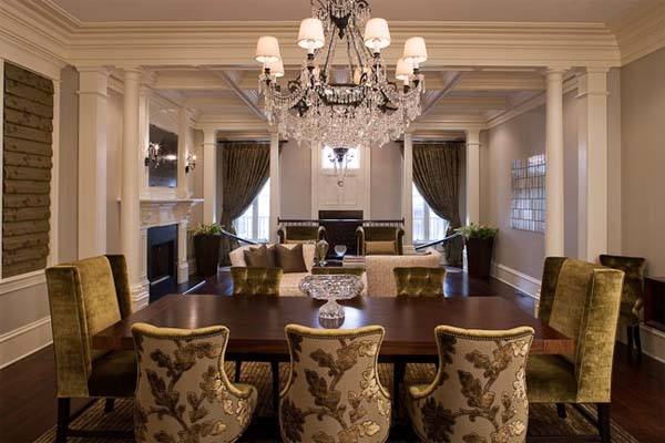 Popular Formal Dining Room Furniture With Table Centerpieces Decorations