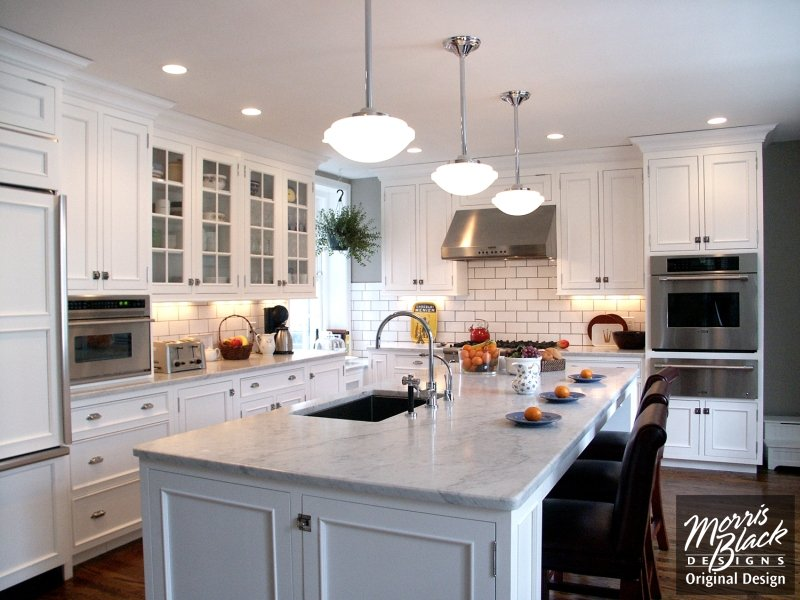 Simple Traditional Kitchen Designs With Traditional White Kitchen Philly