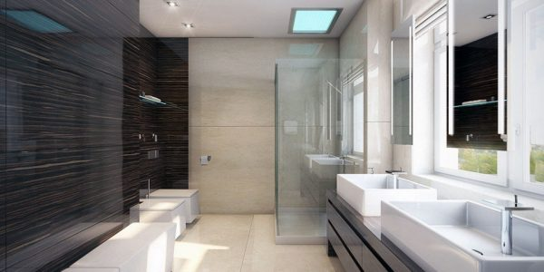 Best White Modern Interior Design With Modern Bathroom Design Ideas Home Designer Within Contemporary Bath Design