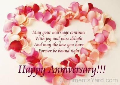 Cheap Christian Wedding Anniversary Wishes With Happy Wedding Anniversary With Heart