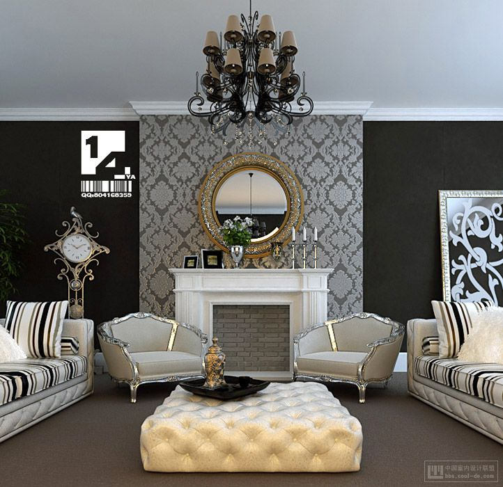 Minimalist Classic Modern Interior Design With Classic Asian Interior Design