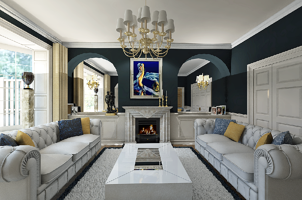 Popular Classic Modern Interior Design With Modern Classic Interior Design Living Room Picture MNwI