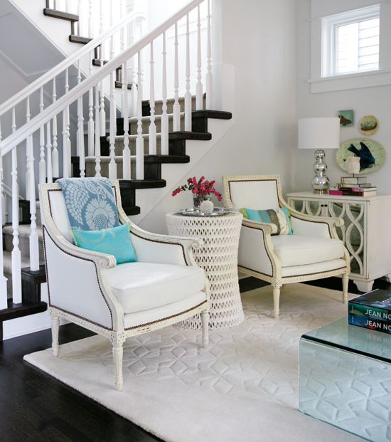Awesome Classic Modern Interior Design With Modern Classic Stair Case