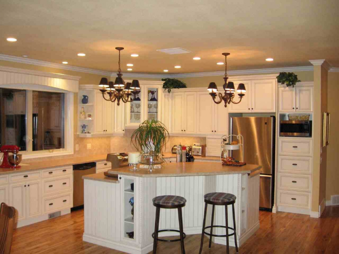 Custom Traditional Kitchen Designs With Traditional Country Kitchen Designs