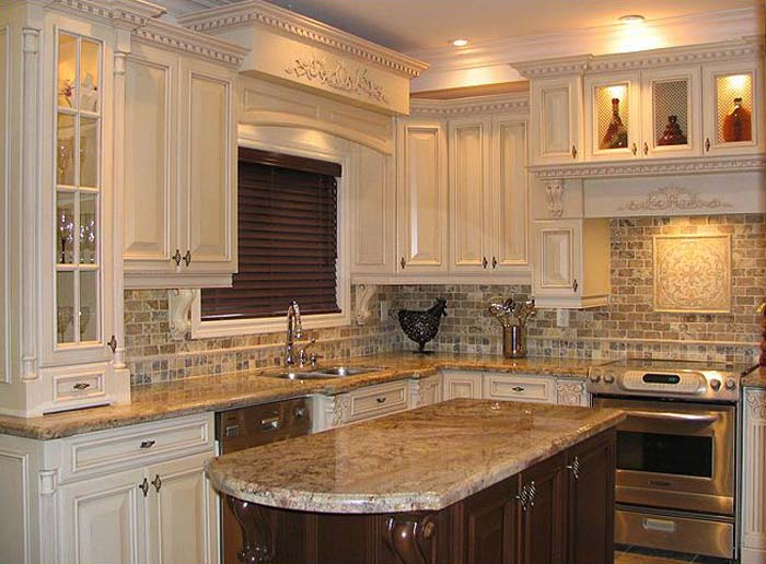 Perfect Traditional Kitchen Designs With Facelift White Cabinet Traditional Kitchen Designs