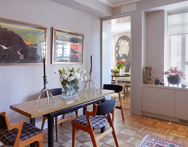Cool Slim Dining Table With Narrow Dining Table That Can Double As A Simple  Work Station