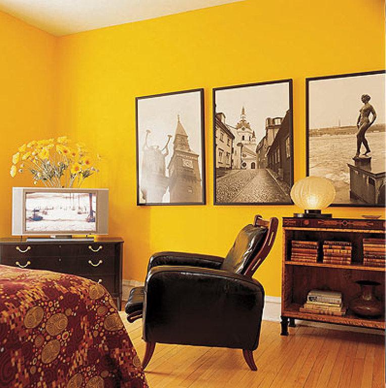 Impressive Yellow Interior Design Ideas With Warm Walls Interior Idea
