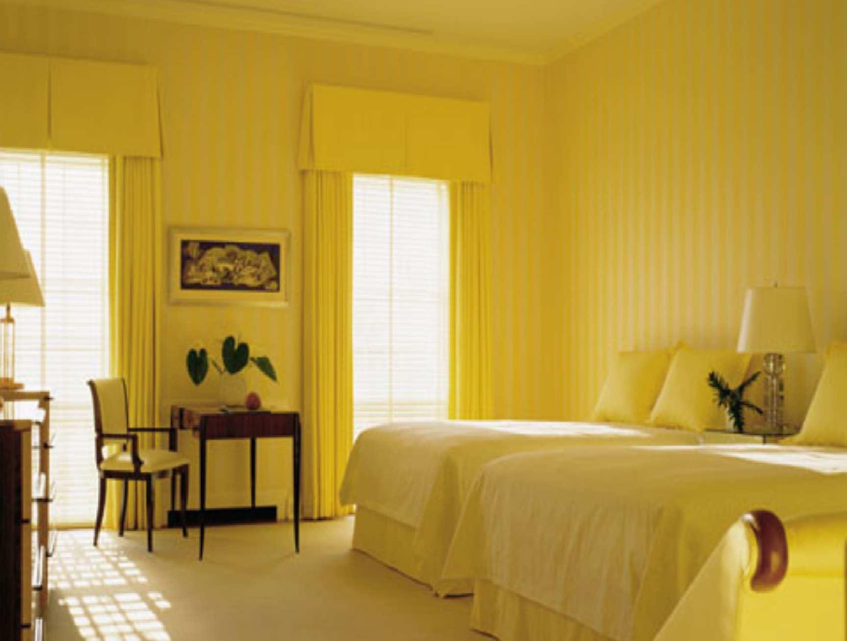 Brilliant Yellow Interior Design Ideas With Extraordinary Bright Yellow Bedroom Ideas Interior Design At Yellow Bedrooms