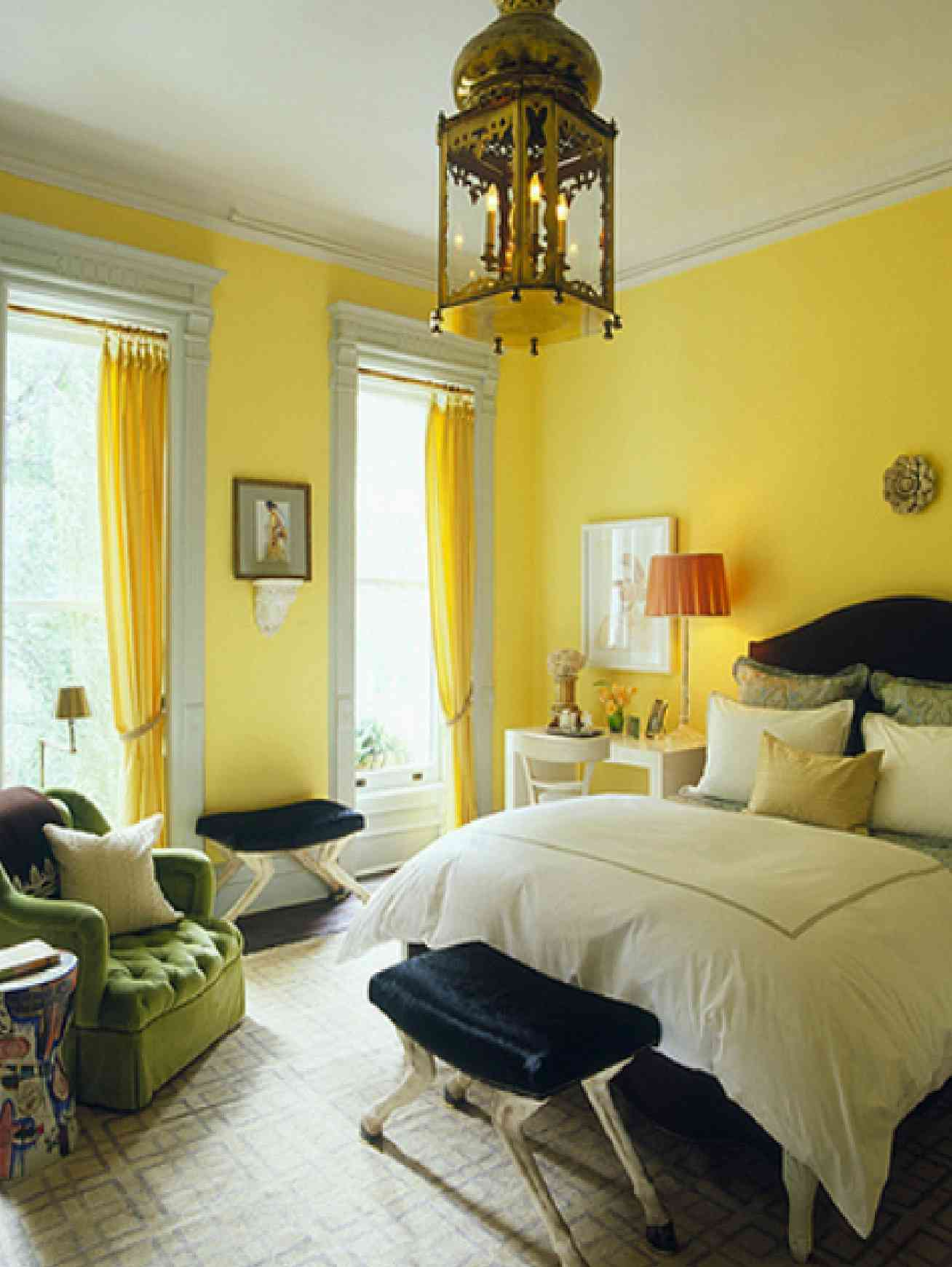 Beautiful Yellow Interior Design Ideas With Great Yellow Bedroom Excellent Design On Home Decoration Ideas Grey And Yellow Bedroom By Yellow Bedrooms