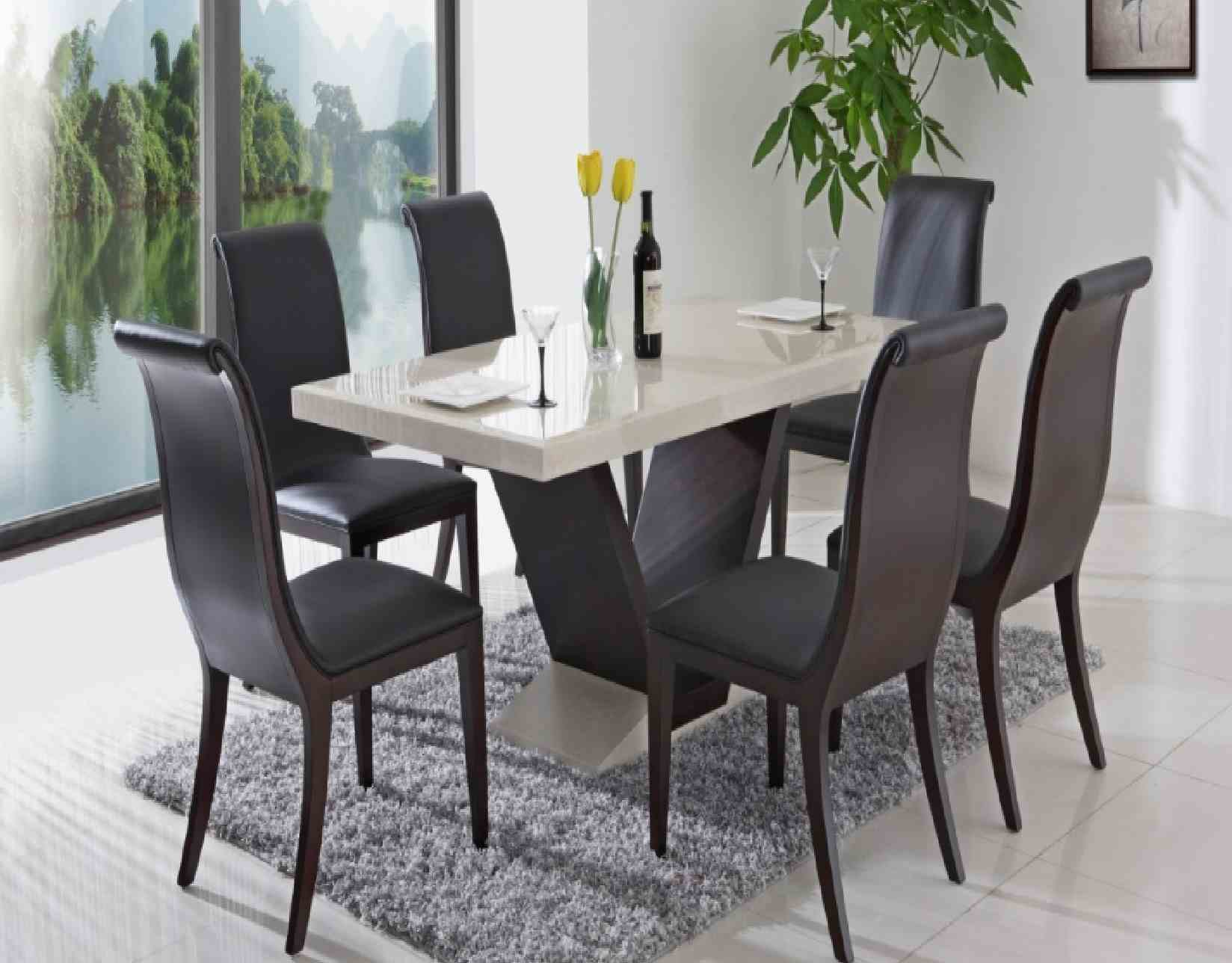 New Unique Dining Room Chairs With Large Dining Room Table Modern Italian Excellent Rectangle Shape Furniture Tables Glass Top Simple Unique Ideas With Dining Room Table With White Chairs Dining Room Dining Room Light Fixtures Black Se