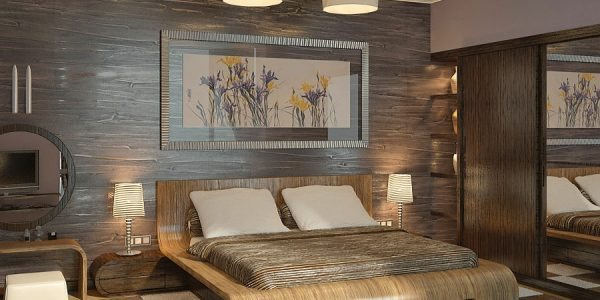 Cheap Bedroom Interior Design Ideas 2012 With Brown Cream Modern Bedroom