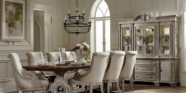 Luxury Formal Dining Room Chairs With Orleans Ii White Wash Traditional Formal Dining Room Furniture Set With Formal Dining Room Sets Tips In Buying Formal Dining Room Sets