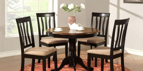 Perfect Circle Kitchen Table With Round Kitchen Bistro Table