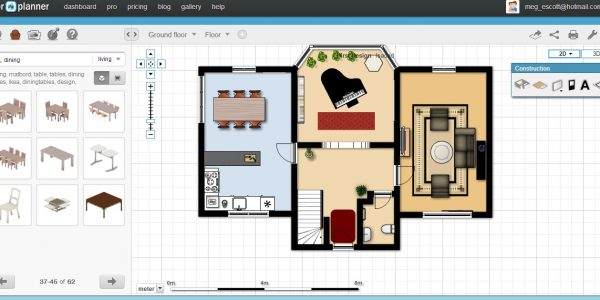 Best Floor Planer With Free Floorplan Software Floorplanner Groundfloor Furniture
