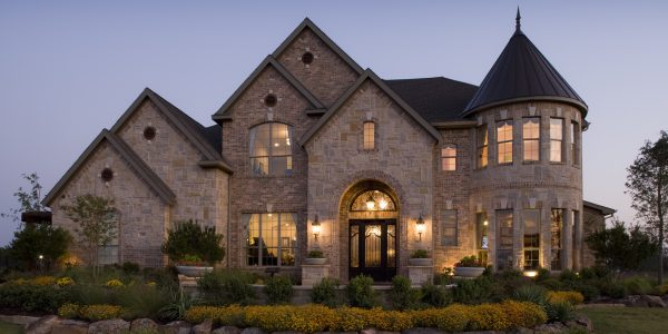 Popular Luxury Homes In Houston With Toll Bros Vinton Exterior