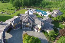 Cheap Luxuryhomes With Harmony Mountain Estate PA Luxury Homes Drone Video
